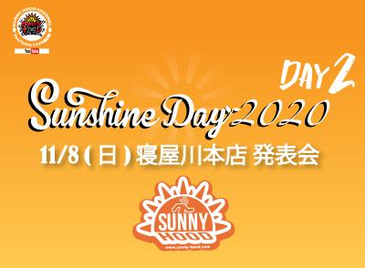 2020.11.08(SUN) SUNNY HOOD 寝屋川本店 発表会