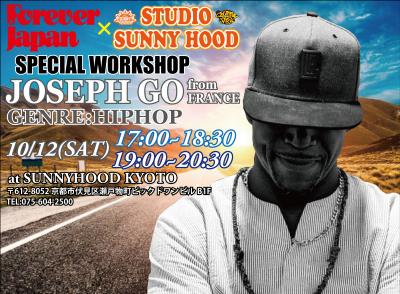 FOREVER JAPAN×STUDIO SUNNYHOOD SP WORKSHOP 開催!【JOSEPH GO】