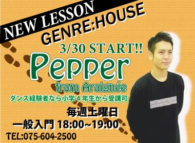 [Pepper]NEW LESSON START!!