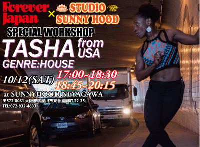 FOREVER JAPAN×STUDIO SUNNYHOOD SP WORKSHOP 開催!【TASHA】